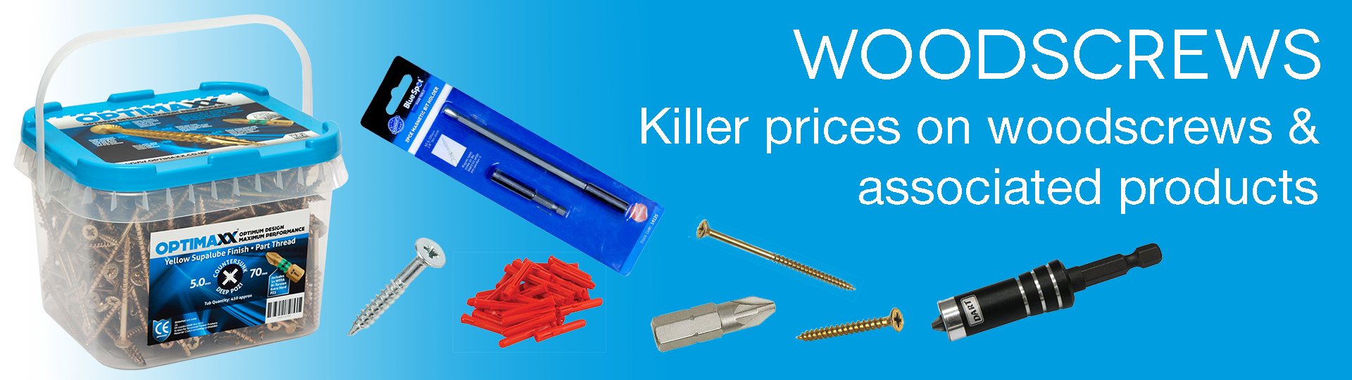 Woodscrews & associated products
