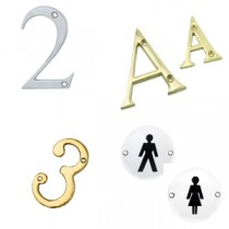 Letters, Numerals & Signage
