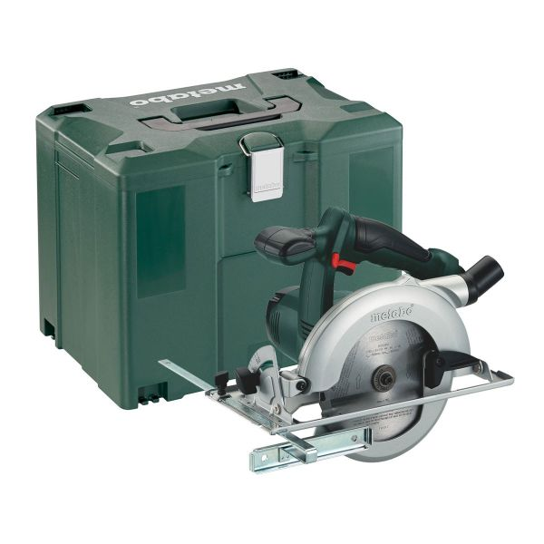 METABO KSA 18 LTX BODY ONLY CIRCULAR SAW + METALOC