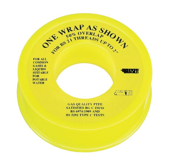 PTFE WATER TAPE 12MM 12MTR