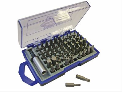 SCREWDRIVER INSERT BIT SET 61 PIECE FAITHFULL SBSET61