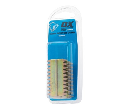 OX SCUTCH COMBS 38MM (PACK OF 4)