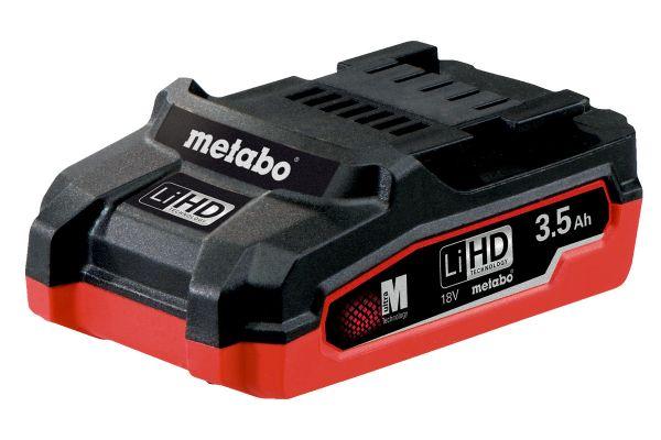 METABO LIHD BATTERY PACK 18V 3.5AH