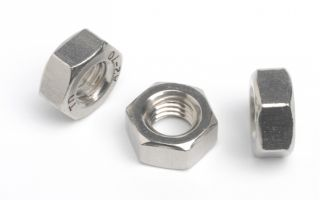 HEXAGON FULL NUT - A2 STAINLESS STEEL M 5