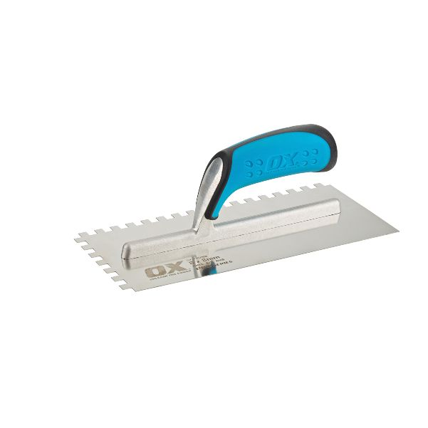 OX PRO NOTCH TROWEL 10MM