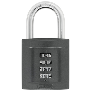 ABUS SUPERCODE 158 4-DIGIT COMBINATION PADLOCK 50MM