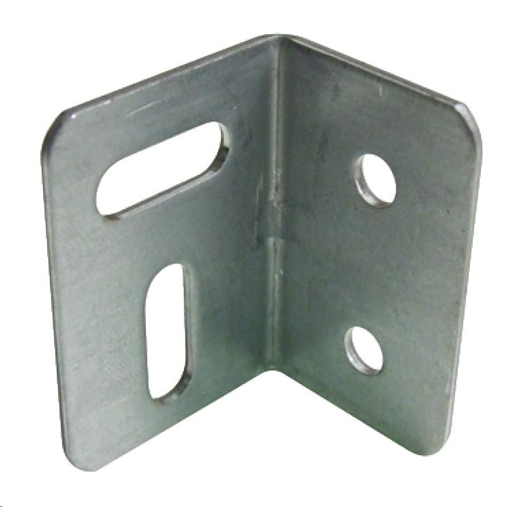 ANGLE BRACKET - UNFINISHED STEEL 27 X 25 X 38MM (MULTI-HOLE)