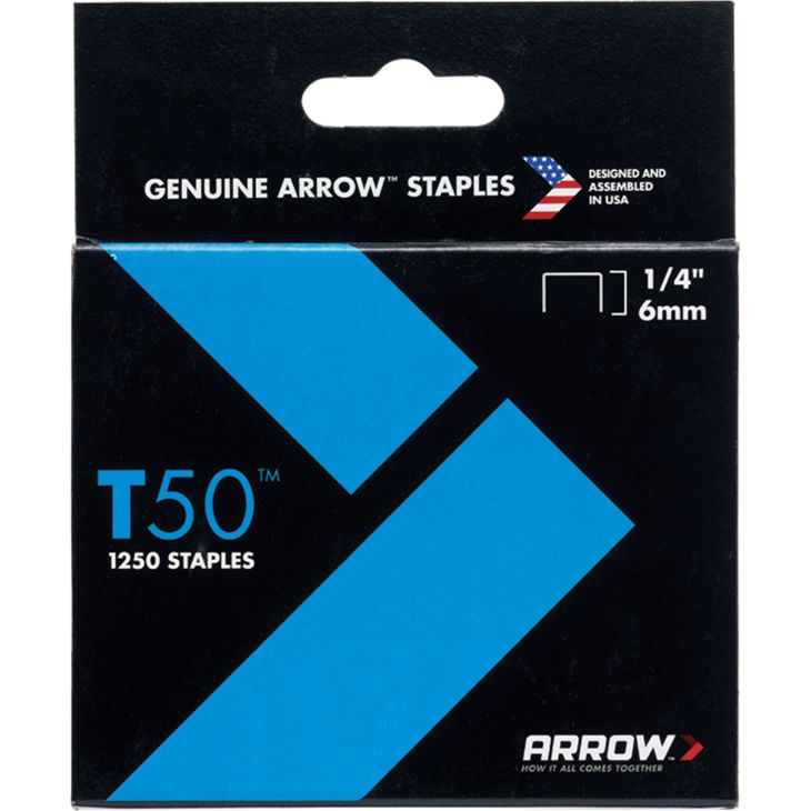 STAPLES - ARROW T50  6MM