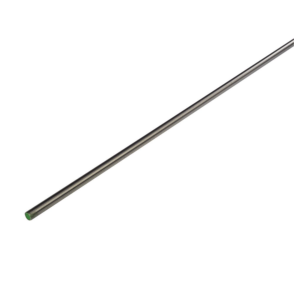 THREADED BAR - A2 STAINLESS STEEL M 8 X 3M