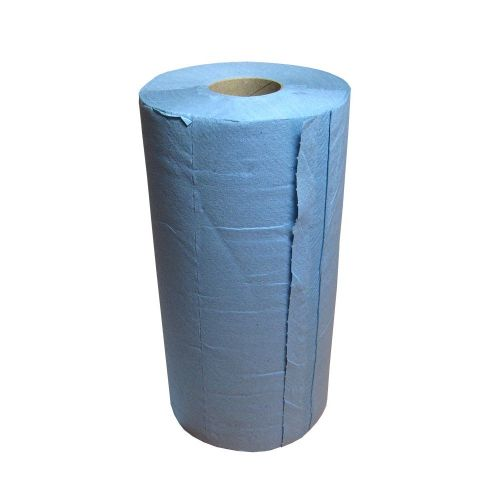 "BLUE 2 PLY LUXURY PERFORMANCE WIPER ROLL 10"" (250MM)"