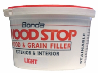 WOODSTOP PREMIUM EXTERIOR READY MIXED WOOD FILLER 250ML LIGHT STAINABLE