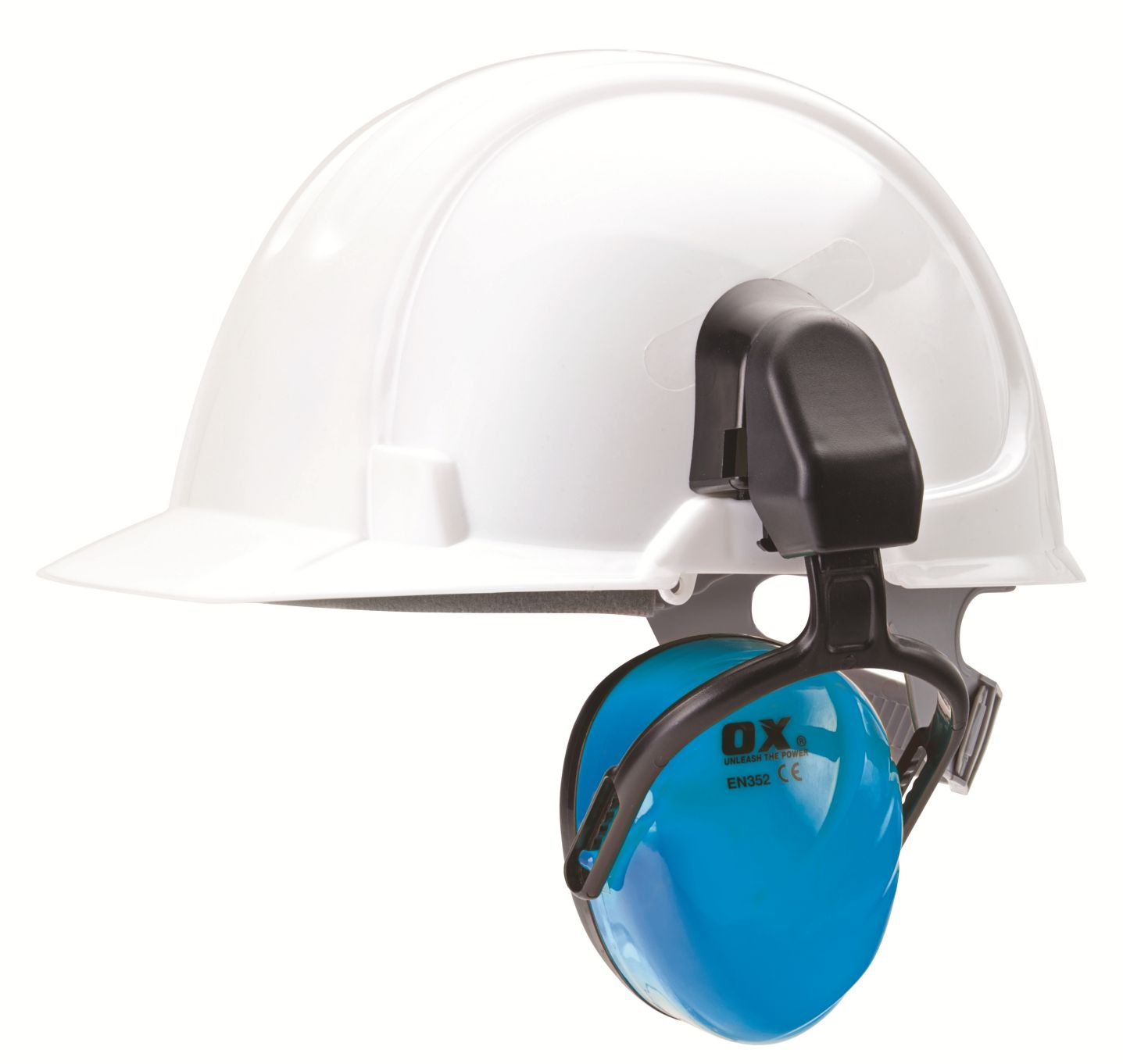 OX SAFETY HELMET MOUNTED EAR DEFENDERS
