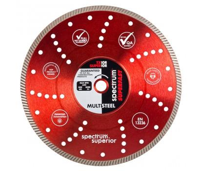 OX SPECTRUM DIAMOND BLADE - TX10R SUPERFAST PRO MULTSTEEL 300 X 20MM (STIHL SAW COMPATIBLE)