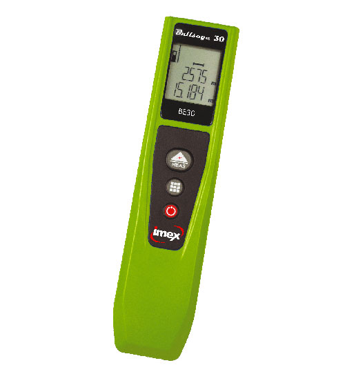 IMEX BULLSEYE 30M LASER DISTANCE MEASURER PEN