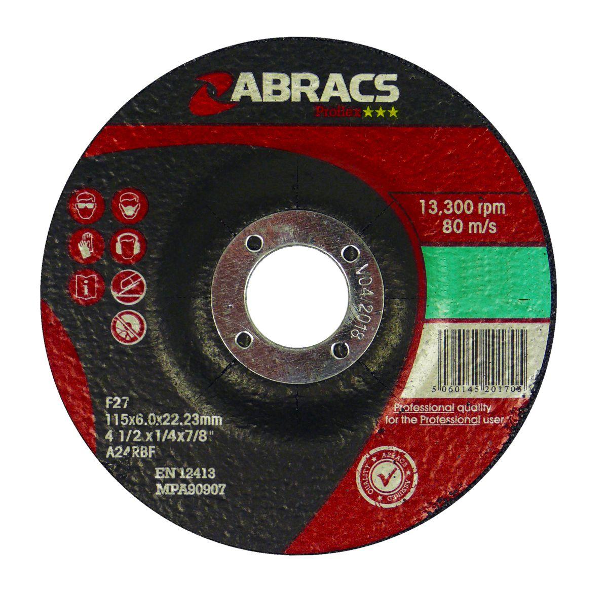 STONE GRINDING DISC - DPC 230 X 6.0 X 22MM