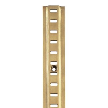 RAISED BOOKCASE STRIP ELECTRO BRASSED
