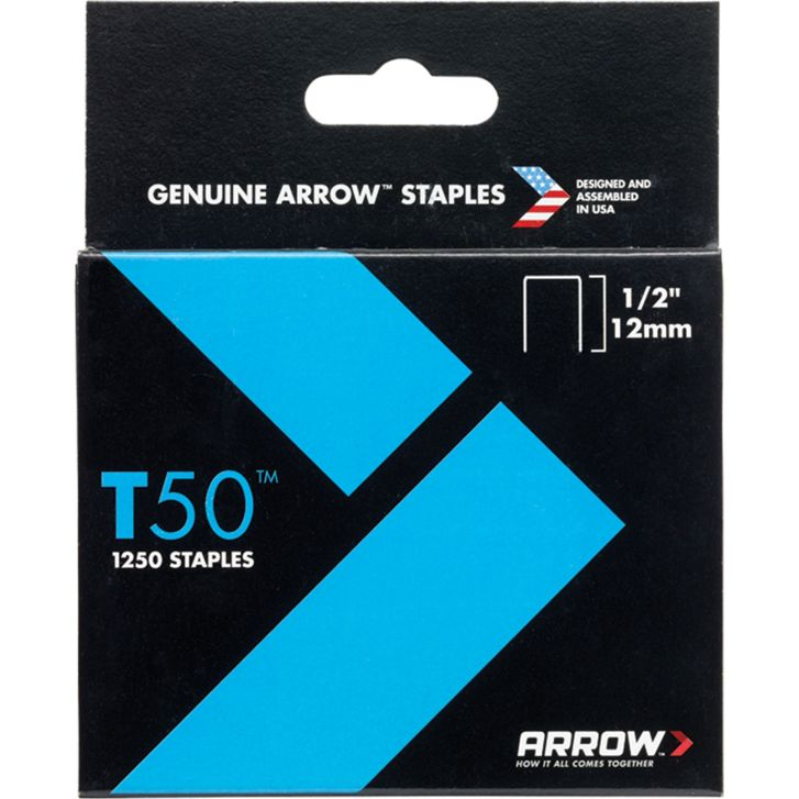 STAPLES - ARROW T50 12MM