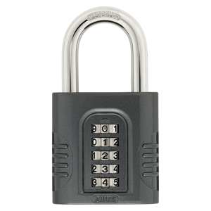 ABUS SUPERCODE 158 5-DIGIT COMBINATION PADLOCK 65MM