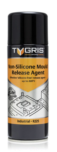 NON-SILICONE MOLD RELEASE AGENT 400ML SPRAY TYGRIS R-225