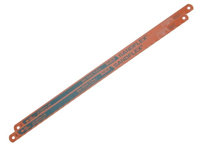 """BAHCO SANDFLEX BI-METAL HACKSAW BLADES 300MM (12"""") 18TPI"""