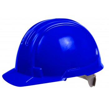 OX STANDARD UNVENTED SITE HARD HAT/SAFETY HELMET BLUE