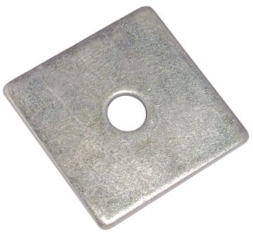 SQUARE PLATE WASHER - A2 STAINLESS STEEL M16 X 50 X 3.0MM