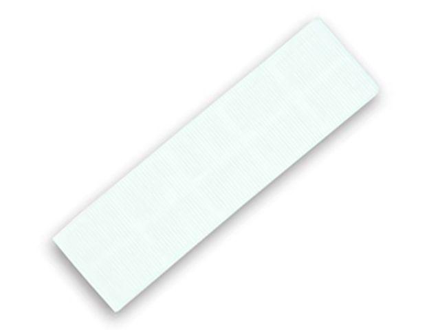 FLAT BATTEN PACKER 28 X 100 X 3MM (WHITE)