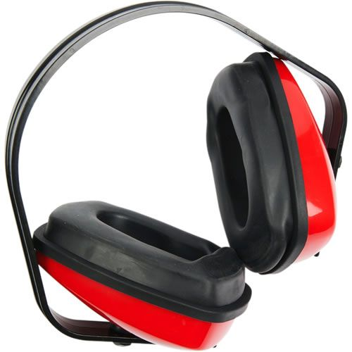 WARRIOR RED CLASSIC 25BD EAR DEFENDERS