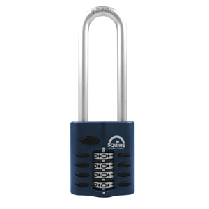 SQUIRE COMBINATION PADLOCK 40MM LONG SHACKLE 2 1/2""