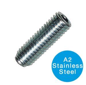SOCKET SETSCREW - A2 STAINLESS STEEL M 8 X 20