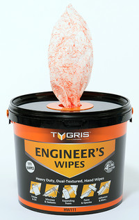 ENGINEER'S DUAL TEXTURED WIPES (TUB OF 111)