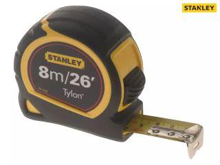 STANLEY TYLON TAPE MEASURE  8M/26FT