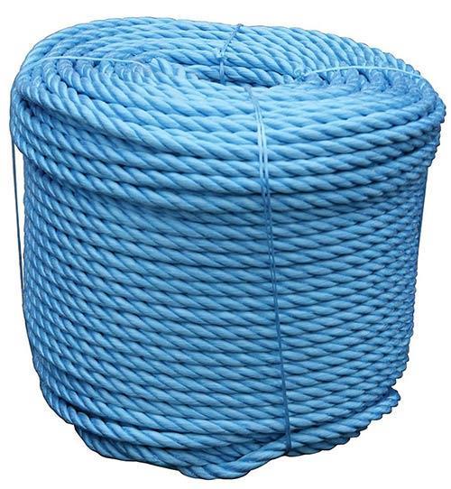 BLUE POLYPROPELENE ROPE  6MM X 500M