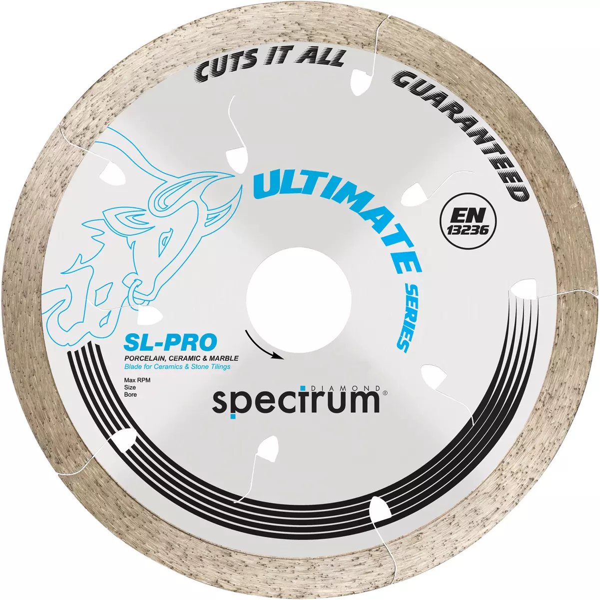 OX SPECTRUM DIAMOND BLADE - SL-PRO ULTIMATE 'CUTS ALL TILES GUARANTEED' 300 X 20MM