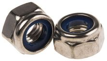 HEXAGON NYLOC NUT - A2 STAINLESS STEEL M 6