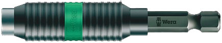 "SCREWDRIVER INSERT BIT HOLDER - WERA BI-TORSION RAPIDAPTOR - UNIVERSAL HEX 1/4"" (6.35MM)"
