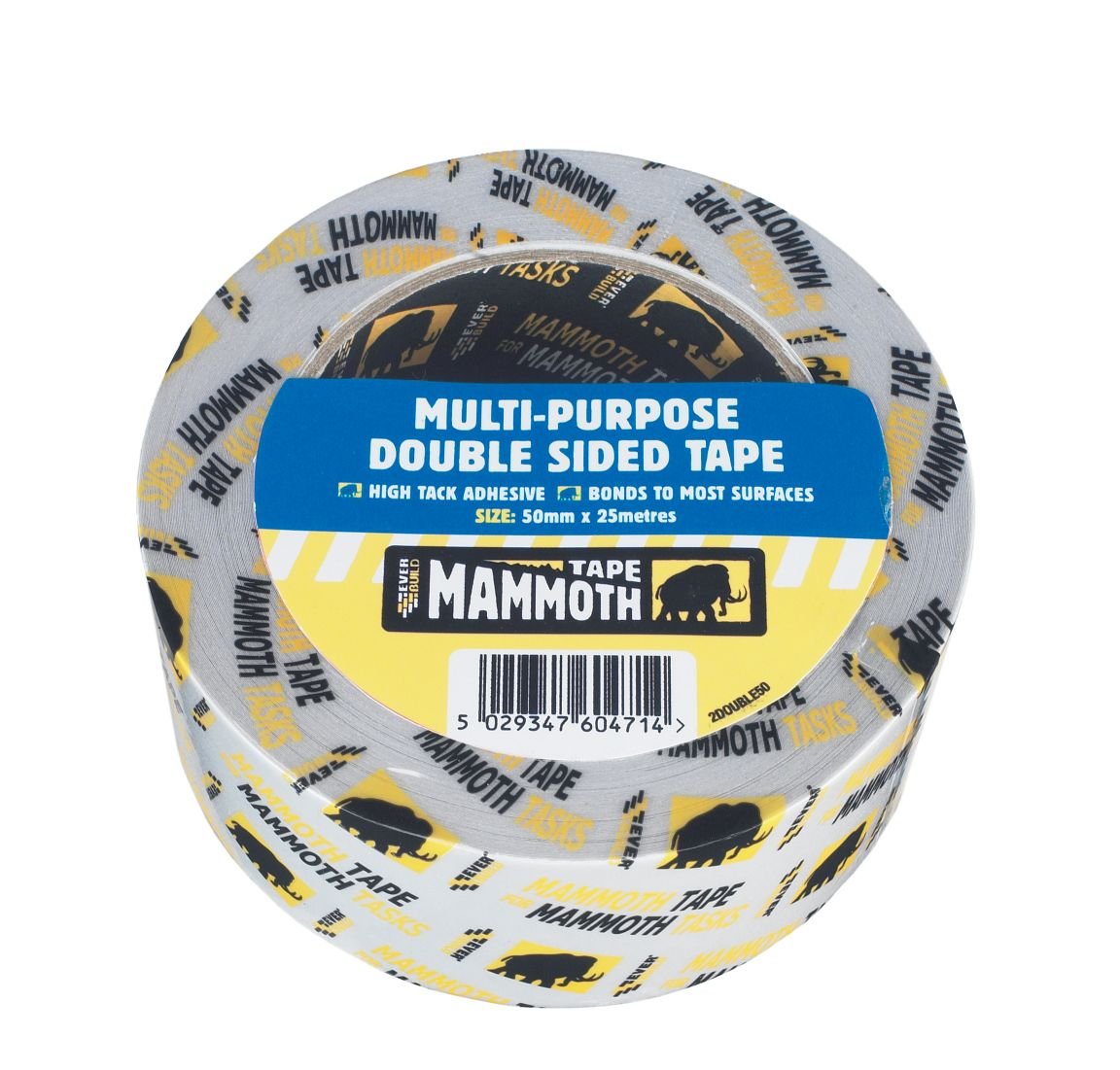 MULTI-PURPOSE DOUBLE SIDED TAPE 25MM 25MTR