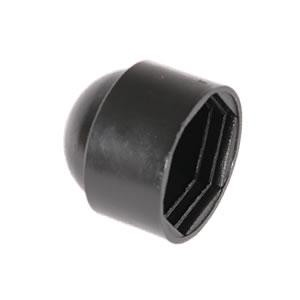 NUT AND BOLT PROTECTION CAP BLACK M12