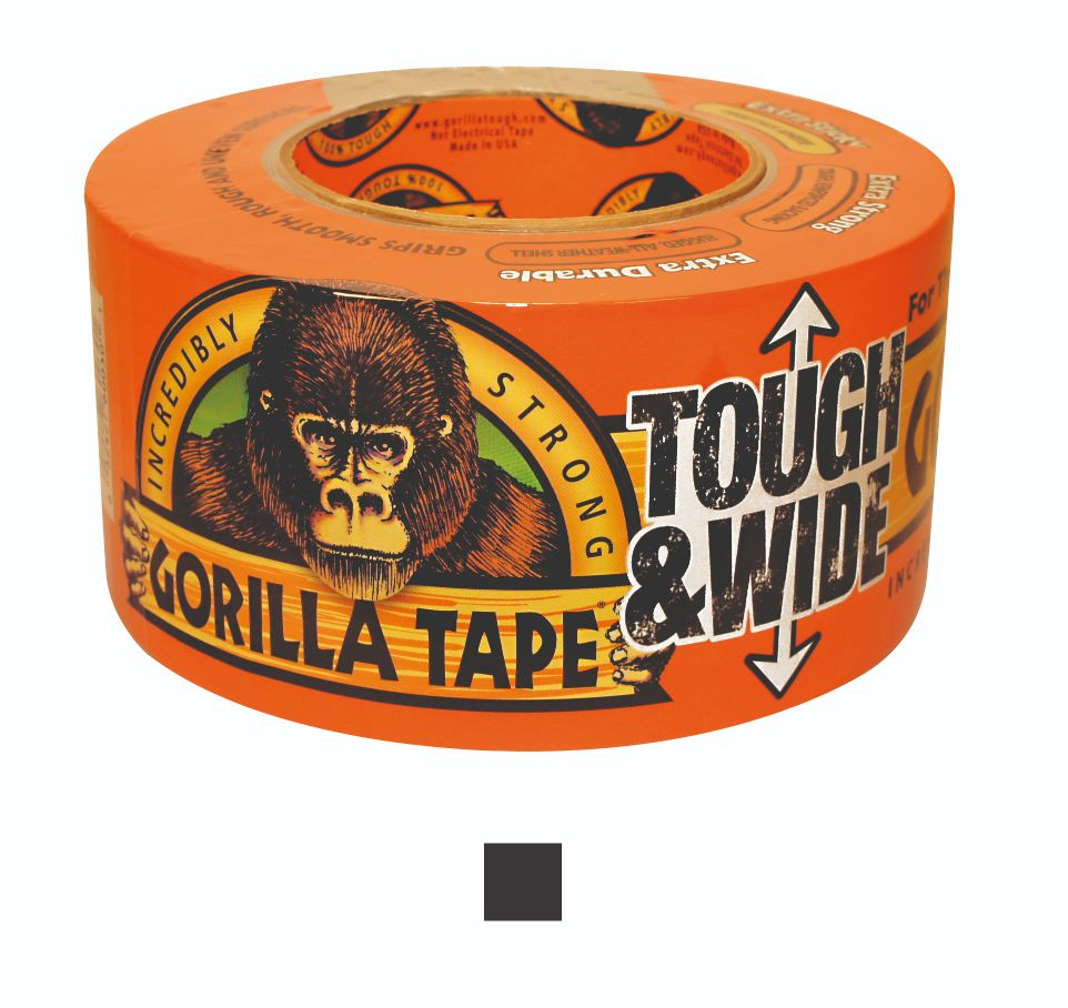 GORILLA EXTRA WIDE & EXTRA TOUGH DUCT TAPE 73 X 27M