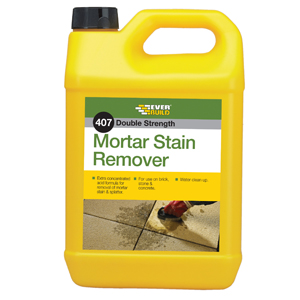 407 DOUBLE STRENGTH MORTAR STAIN REMOVER 5L
