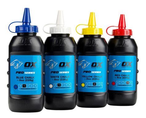 OX PRO CHALK POWDER - 8OZ/226G - BLUE