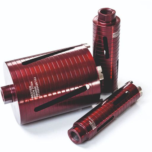 RED TEN SPIRO DCD DRY DIAMOND CORE DRILL  38 X 165MM