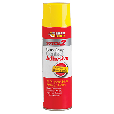 STICK2 ALL PURPOSE INSTANT CONTACT ADHESIVE 500ML SPRAY
