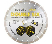 OX SPECTRUM DIAMOND BLADE - GENERAL PURPOSE DCX DOUBLE SIX 115 X 22.23MM