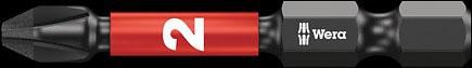 SCREWDRIVER INSERT BIT - WERA PHILLIPS PH3 X  50MM IMPAKTOR DIAMOND