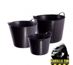 GENUINE GORILLA FLEXI TUB 38L BLACK