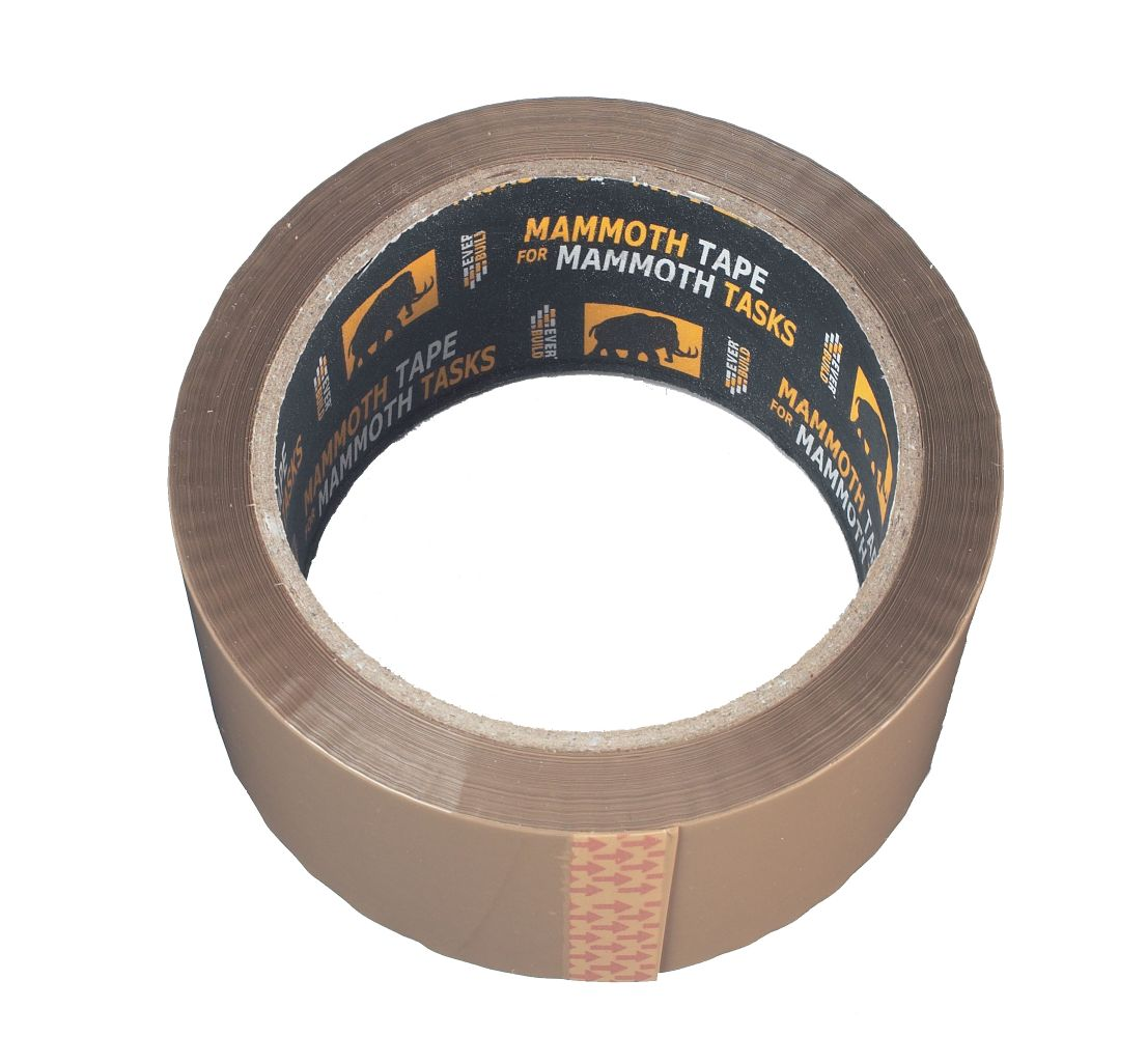 VALUE BROWN/BUFF PACKAGING TAPE 48MM x 66M