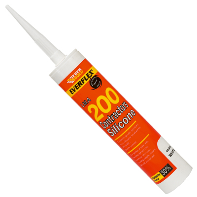 SILICONE SEALANT - 200 CONTRACTORS 295ML WHITE