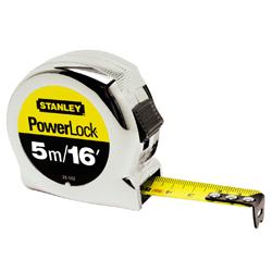 STANLEY POWERLOCK CLASSIC TAPE MEASURE  5M/16FT