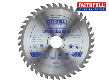 CIRCULAR SAW BLADE TCT 190 X 30MM X 40T